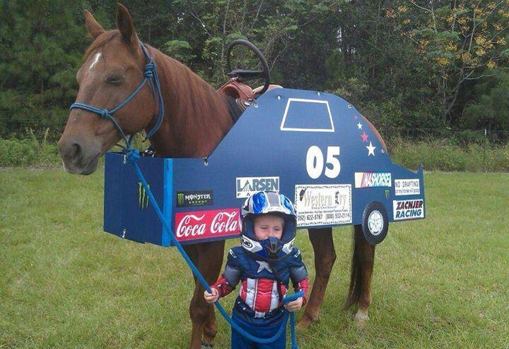 Race Car Costume Horse Fancy Dress Costumes Crafts