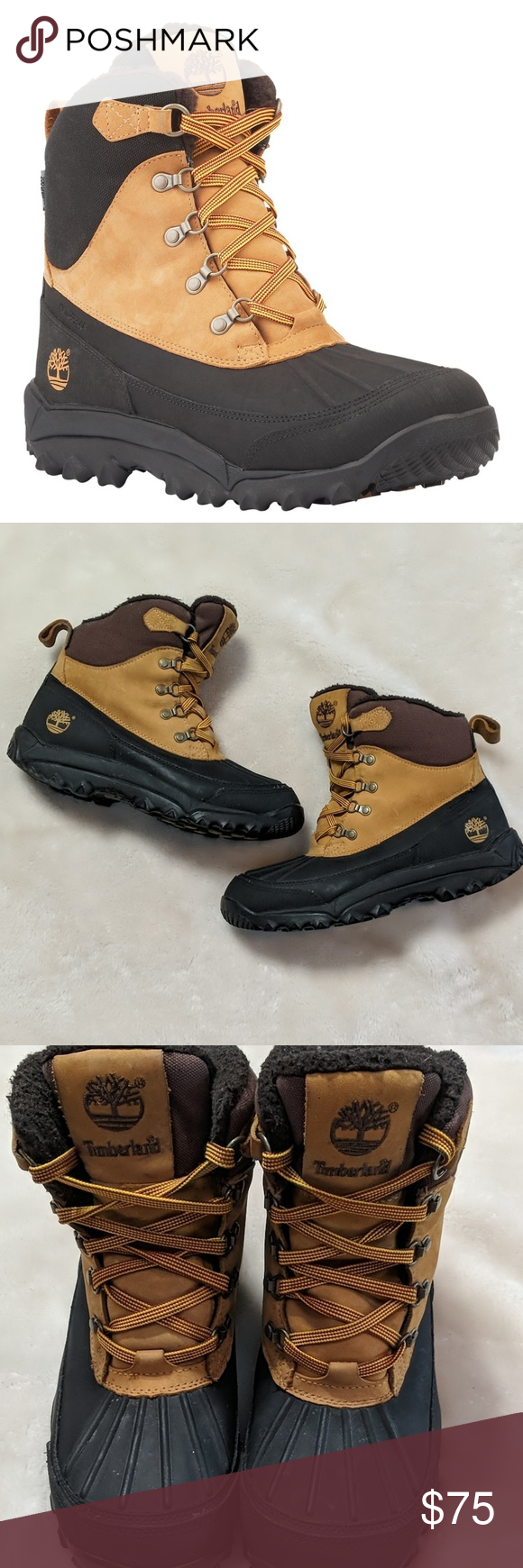 Timberland Rime Ridge Duck Boot in Wheat Rime Ridge duck
