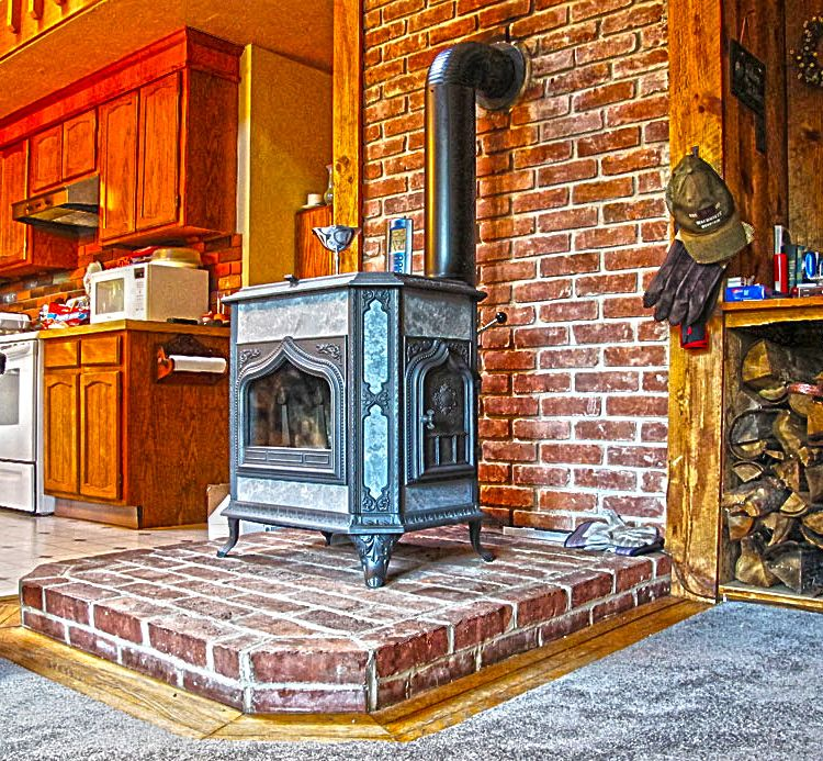 Chimney Hill Apartments: Woodstock Fireview Soapstone Woodstove