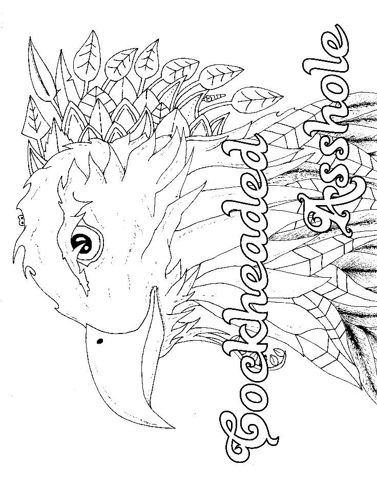 Eagle - Adult Coloring page - swear 14 FREE printable coloring