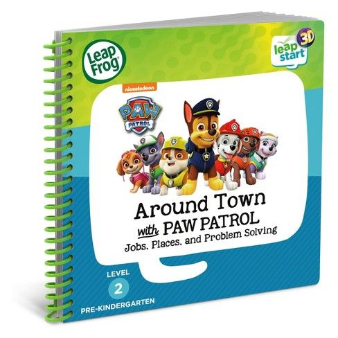 LeapFrogR LeapStartR Around Town With PAW Patrol Book