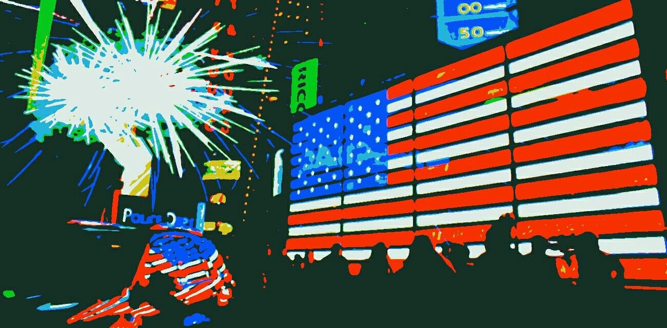 Times Square Stars & Stripes