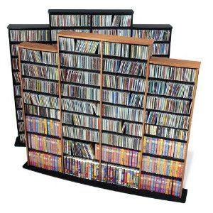 Extra Large Shelf For 1500 Cds Wall Storage Unit Prepac