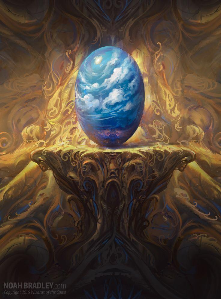 Celestial Rune Weapon Fantasy Art