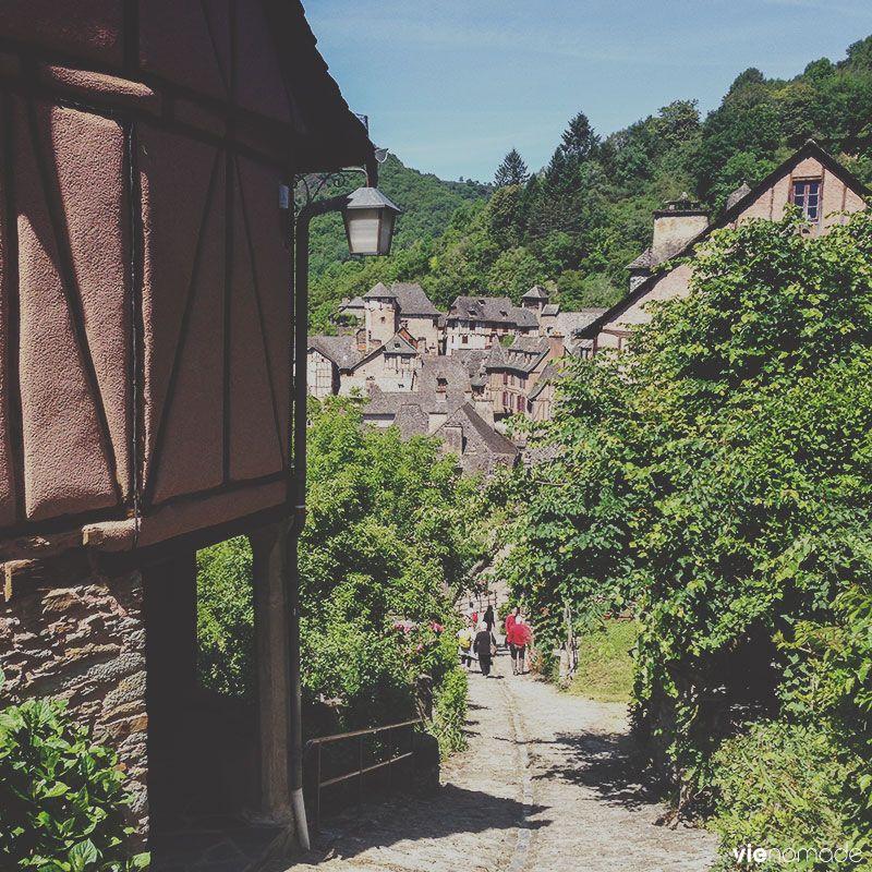 Village de Conques, patrimoine UNESCO