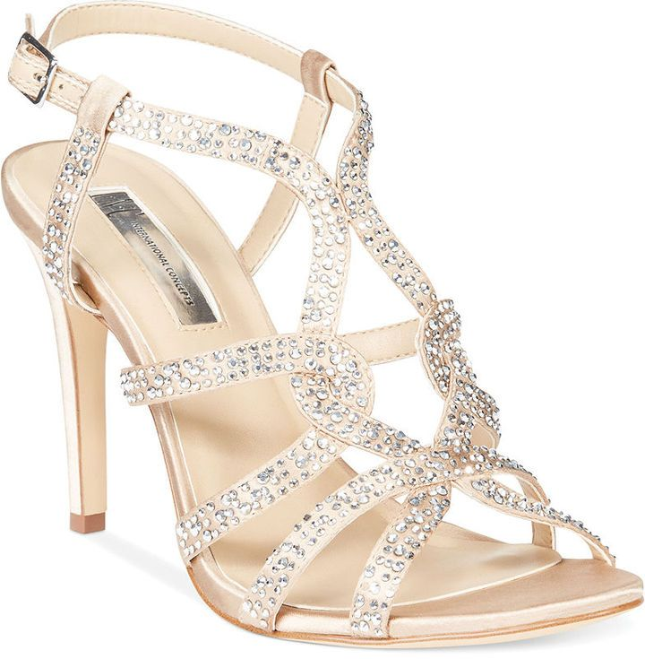 0da923ba9ac INC International Concepts Women s Randii Evening Sandals on shopstyle.com