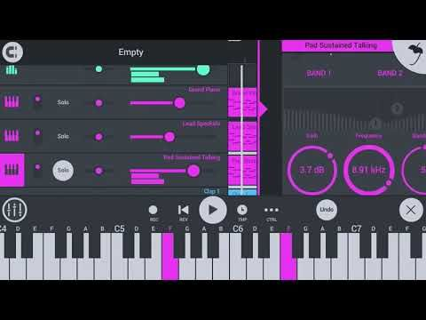 Here's how to Make a Trap Beat In FL STUDIO MOBILE App. in