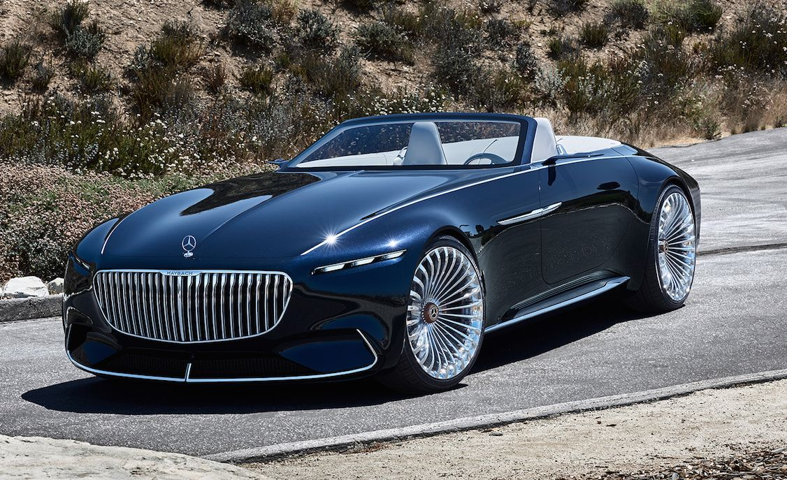 Vision Mercedes Maybach 6 Cabriolet Is 20 Feet Of Electric Drop Top Luxury Slashgear