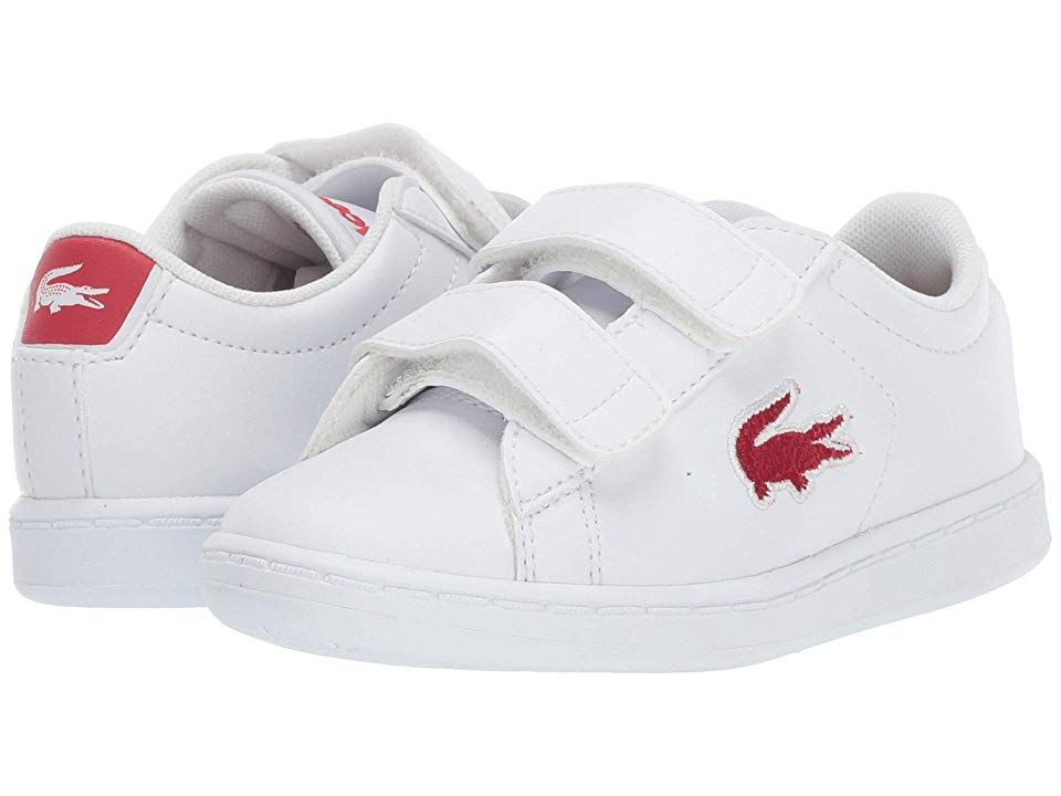 b80a3516 Lacoste Kids Carnaby Evo HL (Toddler/Little Kid) Kids Shoes White ...