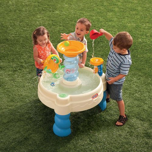 Little Tikes Spiralin' Seas Waterpark Ball Drop Bay Water Table      (1 Customer Review) Write a review |  About this product   Print  Buy from Walmart  Shipping & Pickup  When will I get this item?  Online  $39.97