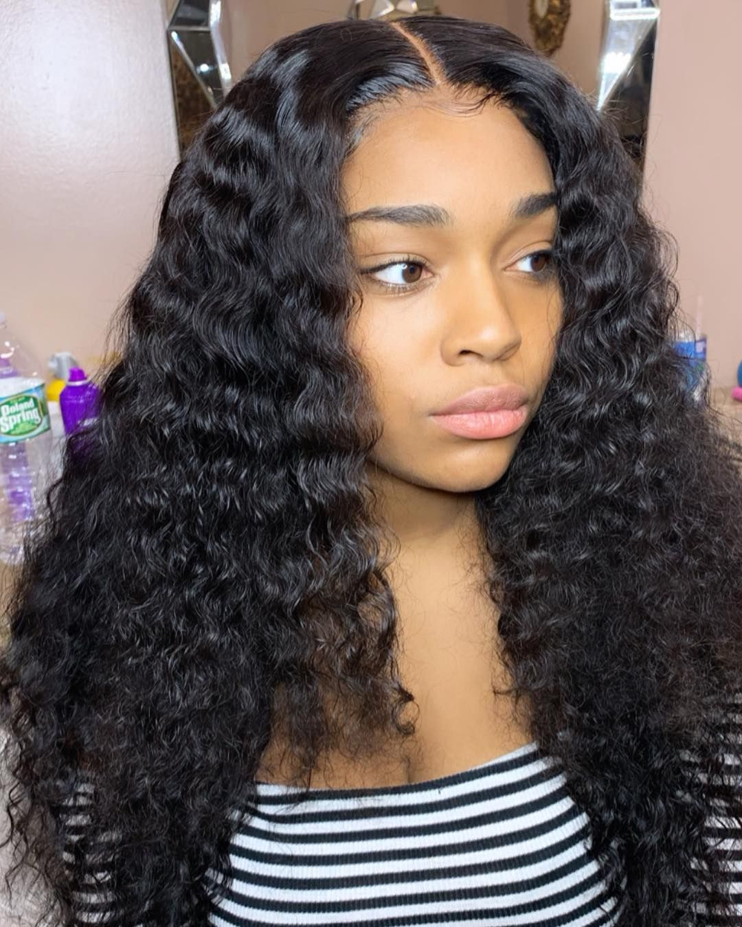 Brazilian Deep Wave Bundles With 6x6 Closure Deep Parting Closure Deep Wave Hairstyles Human Hair Wigs Weave Hairstyles