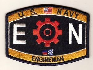EN Engineman US Naval Rating Military Patch | Navy | Pinterest ...