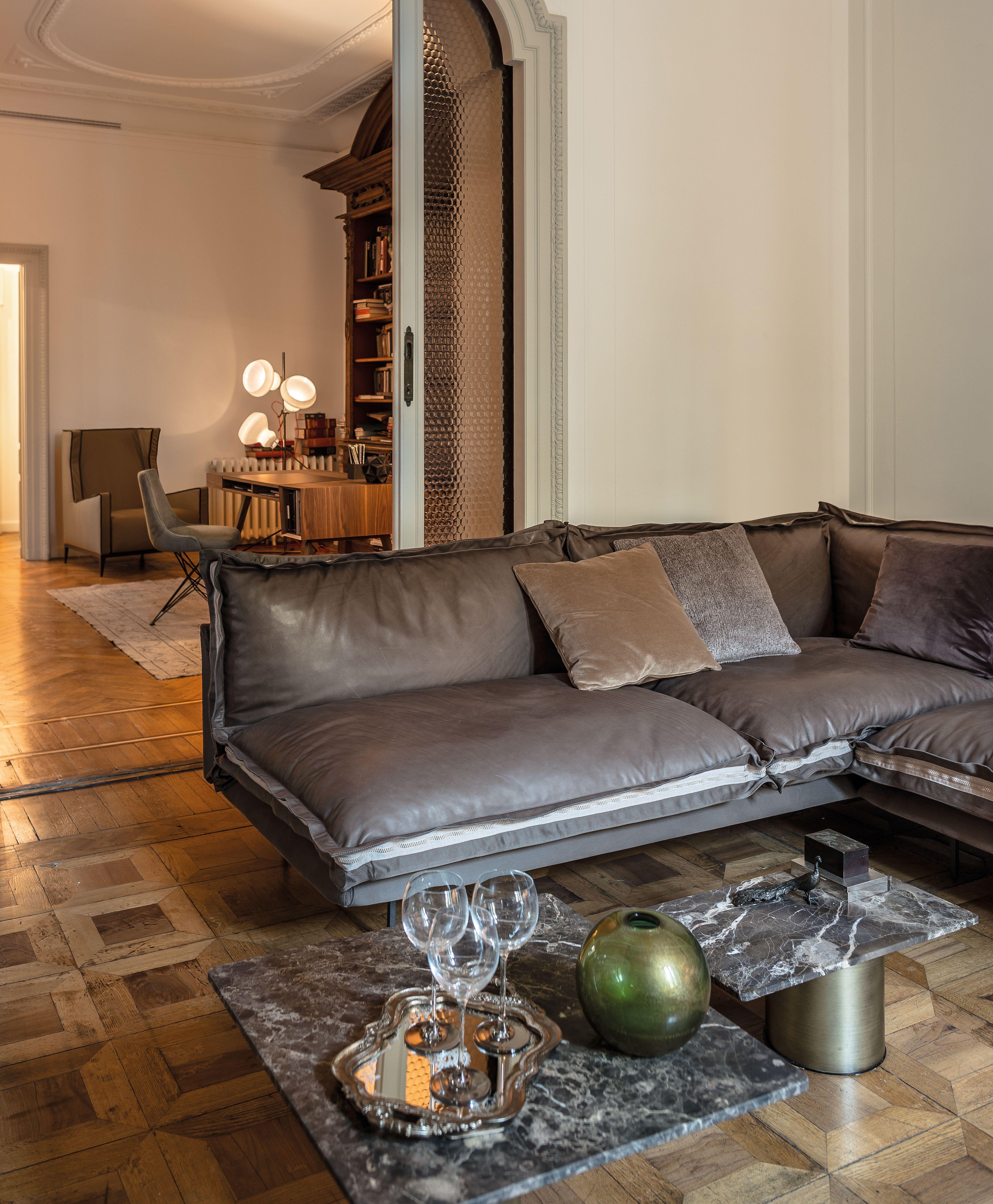 Ab Creative Scandicci the sofa auto-reverse by arketipo firenze, versatile and