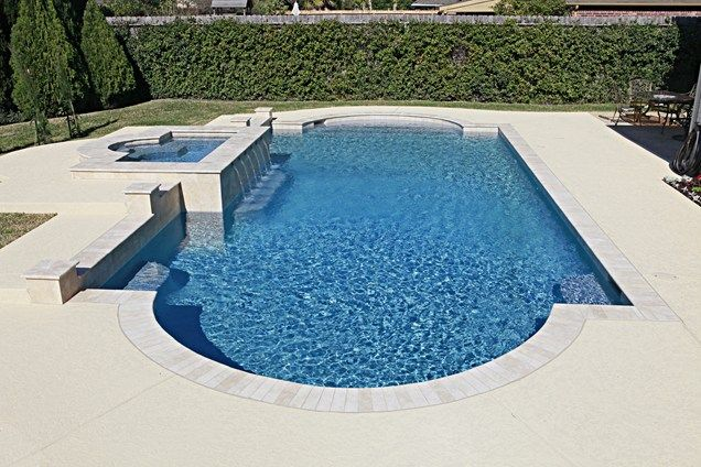 Roman Pool Shape Swimming Pool Landscaping Network Calimesa, ...