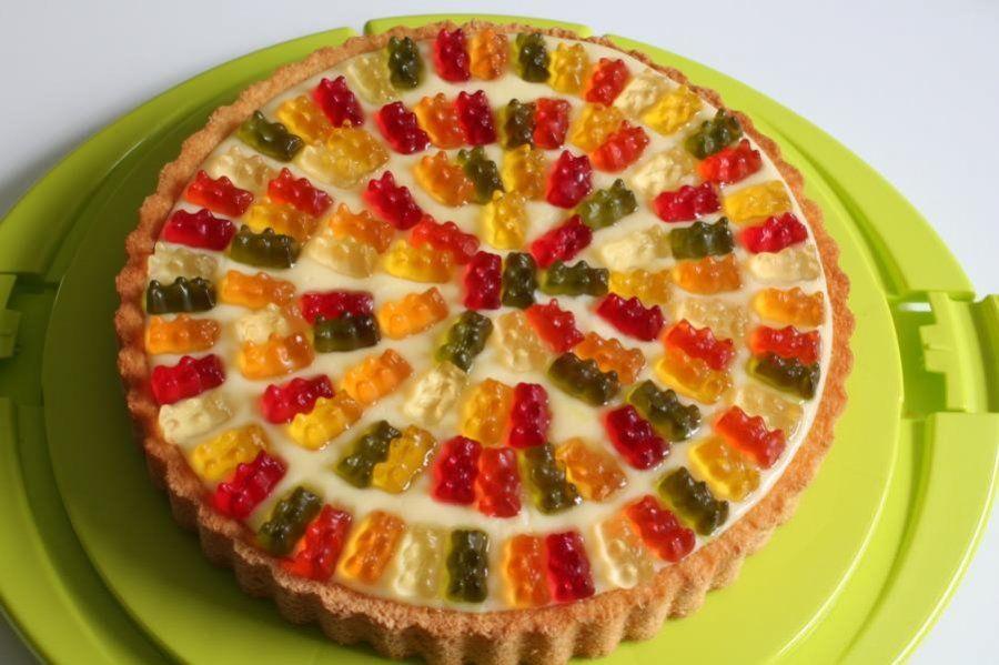 Gummibarchen Torte Rezept Ideen Rezepte