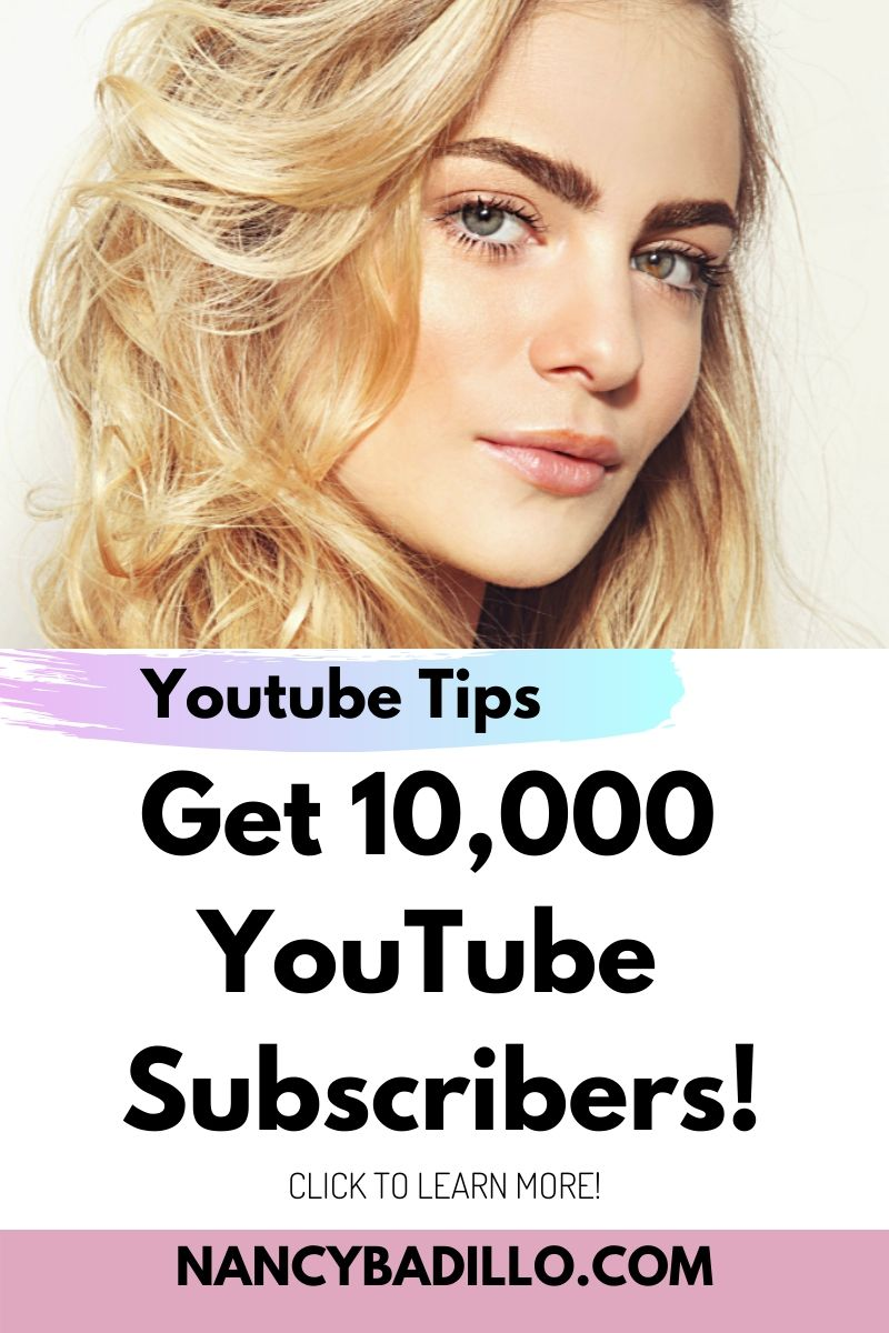 Get 10,000 YouTube Subscribers fast! entrepreneur