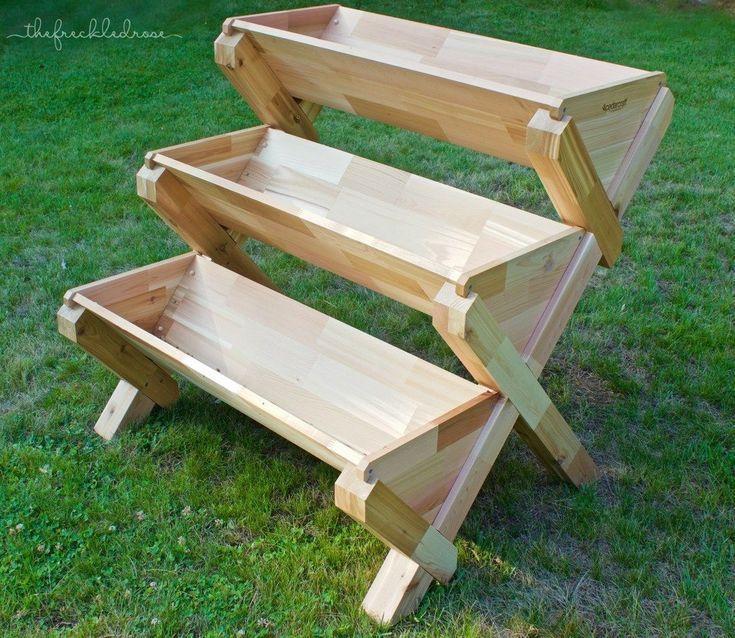 50 DIY Corner Wood Planter Raised Garden Bed 50 DIY Corner