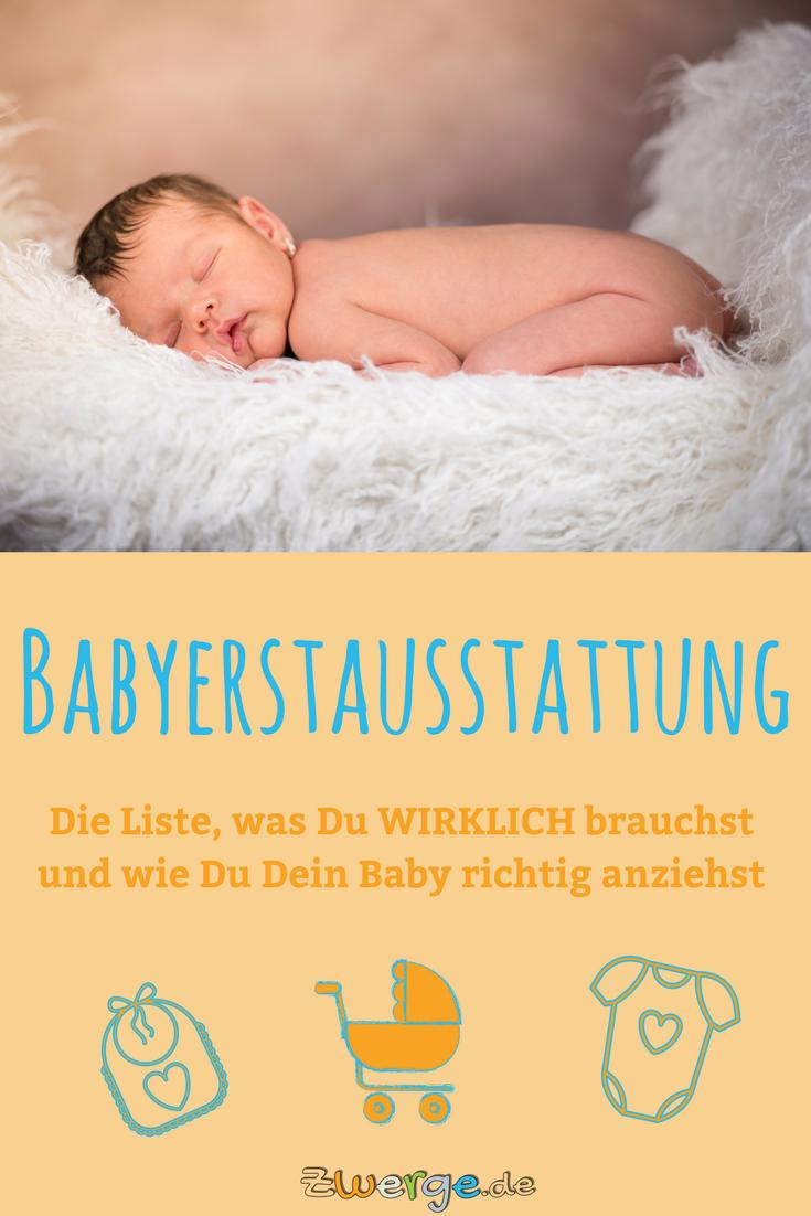 Ausstattungsliste - info.zwerge.de   Baby richtig anziehen ...
