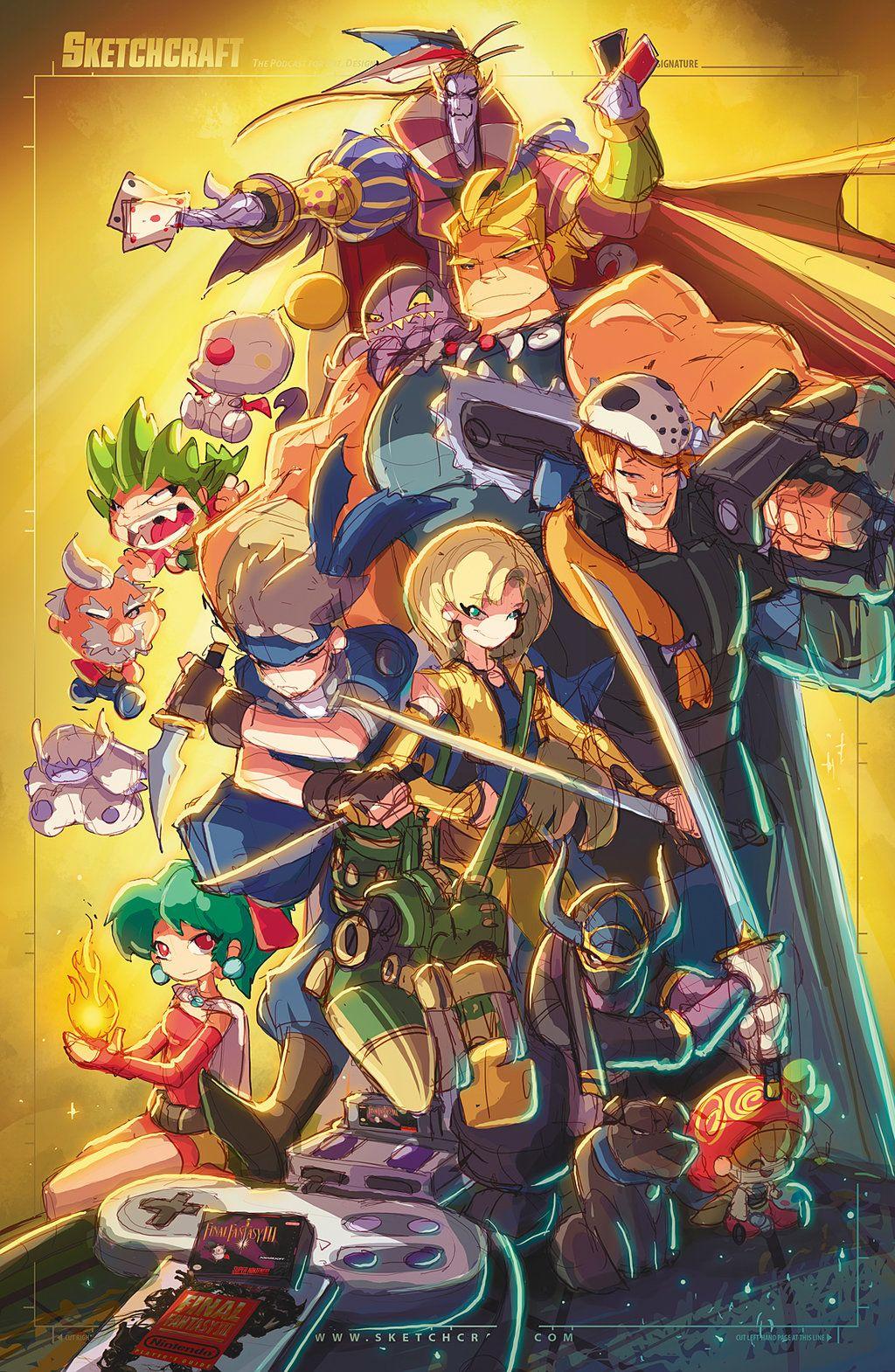 Final Fantasy 6 Ruffy By Robduenas On Deviantart Final