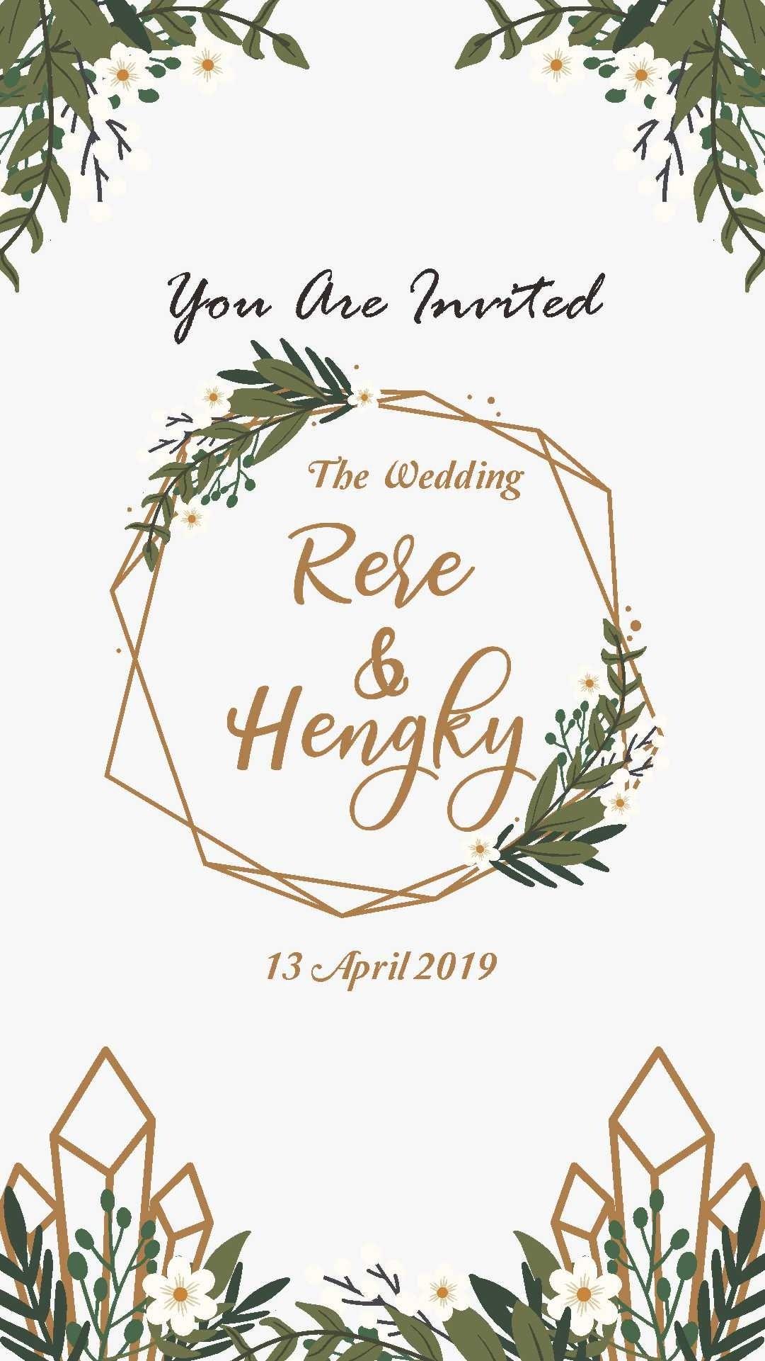 Undangan Online Digital Digital Invitation Contoh Undangan Pernikahan Kartu Pernikahan Undangan Pernikahan