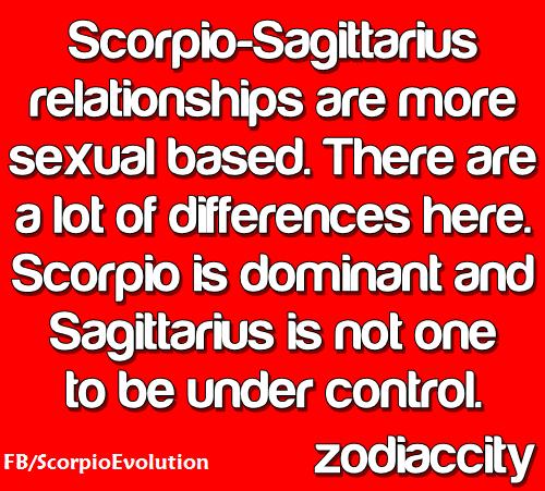 Scorpio and sagittarius compatibility sexually