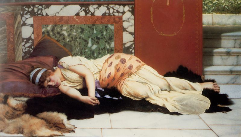 Endymion by John William Godward