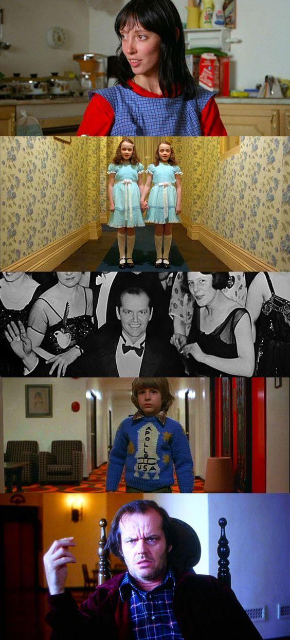 10 filmes de terror com ótimo trabalhos de atmosfera. Cenas do filme O Iluminado. #filmes