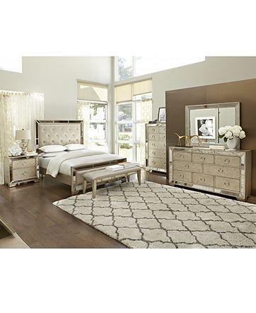 ailey 3 piece queen bedroom set with chest bedroom furniture furniture macys - 3 Piece Bedroom Furniture Set