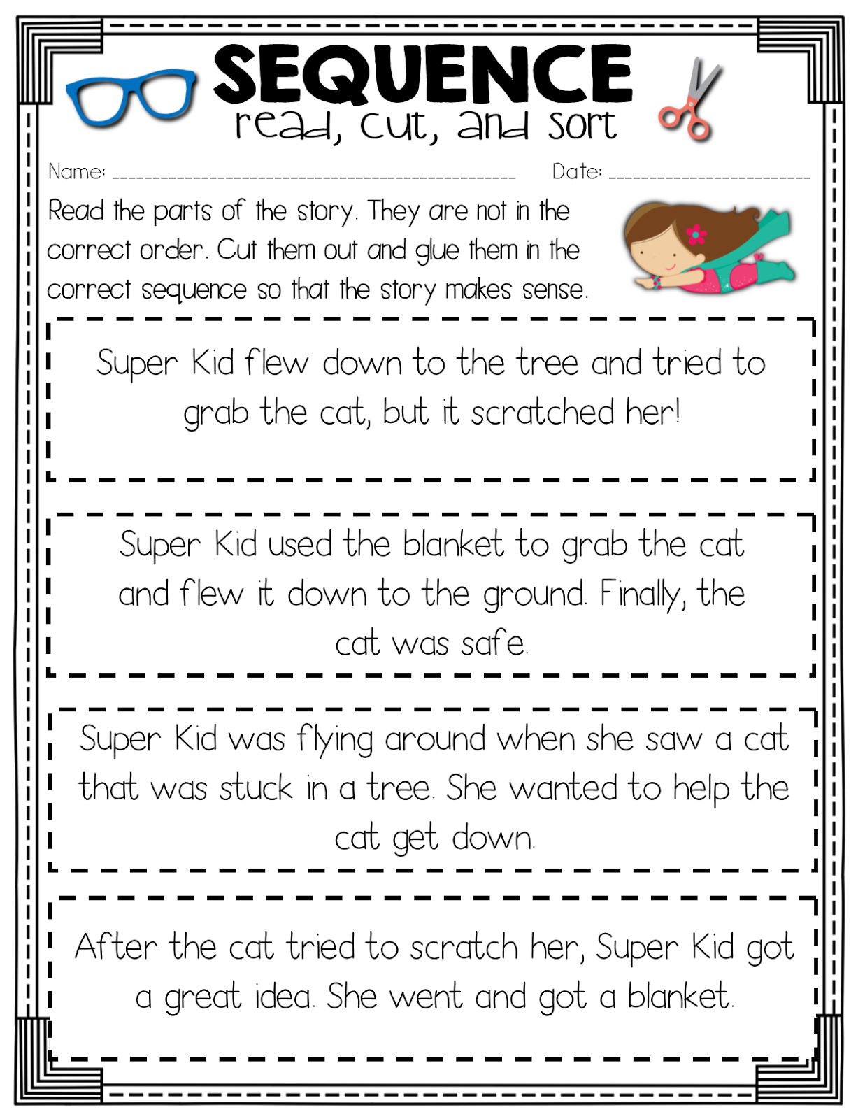 46+ Luxurious worksheets for 2nd grade reading Awesome