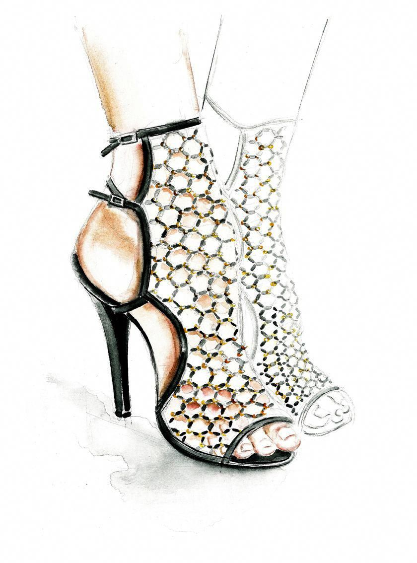 Low Cost Women S Fashion Rings   Shoe design sketches ...