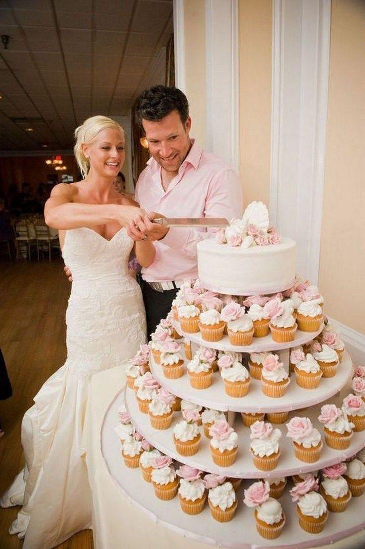 ❤50 die grundlagen rustikaler hochzeitstorten und cupcakes zeigen empfänge, von denen sie ab sofort profitieren können 33   – The look of love!