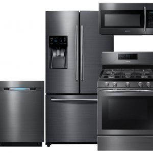 Amazing 4 Piece Kitchen Appliance Package Stainless Steel