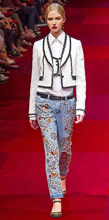 RLWL Dolce & Gabbana // jeans