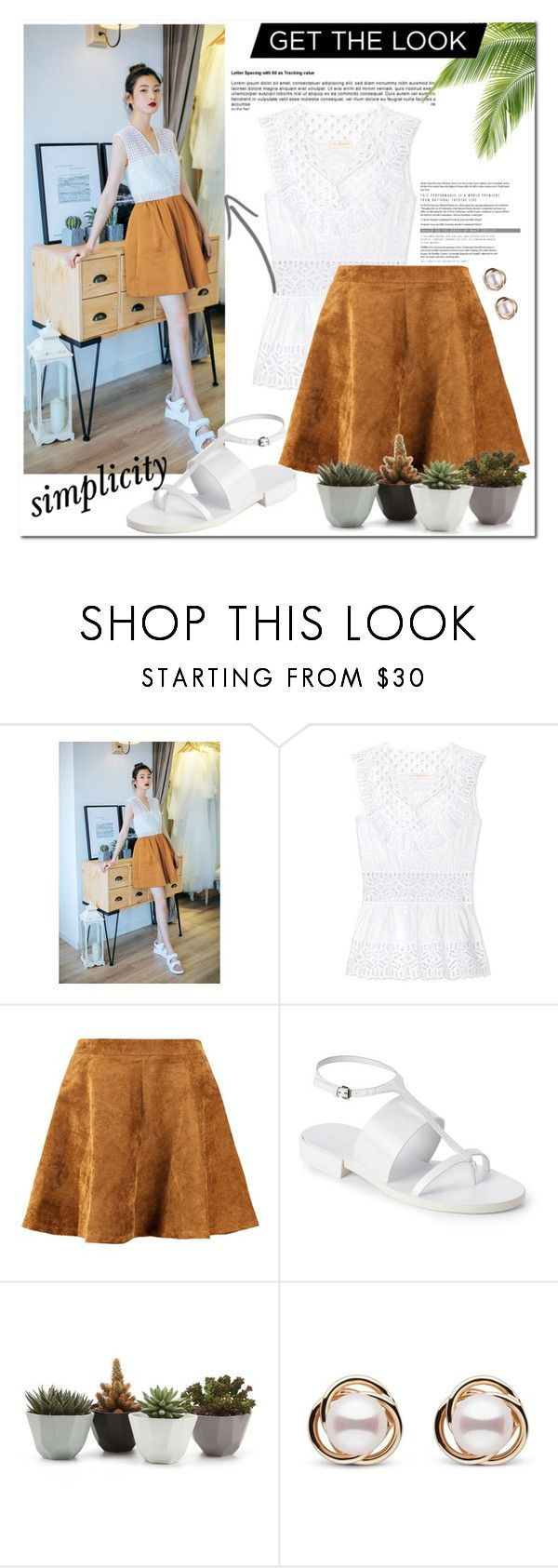 """""""what she wears-casual look 4"""" by imariayang ❤ liked on Polyvore featuring Tory Burch, Jil Sander, Trilogy and heatwave"""