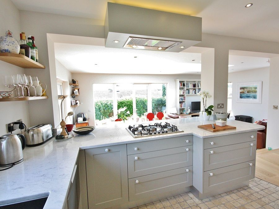 Contemporary #shaker kitchen design in Wicklow, Ireland ...