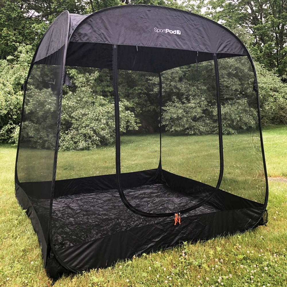 Screenroompod Sportpod Pop Up Insect Screen Tent In 2020 Screen Tent Pop Up Screens Tent