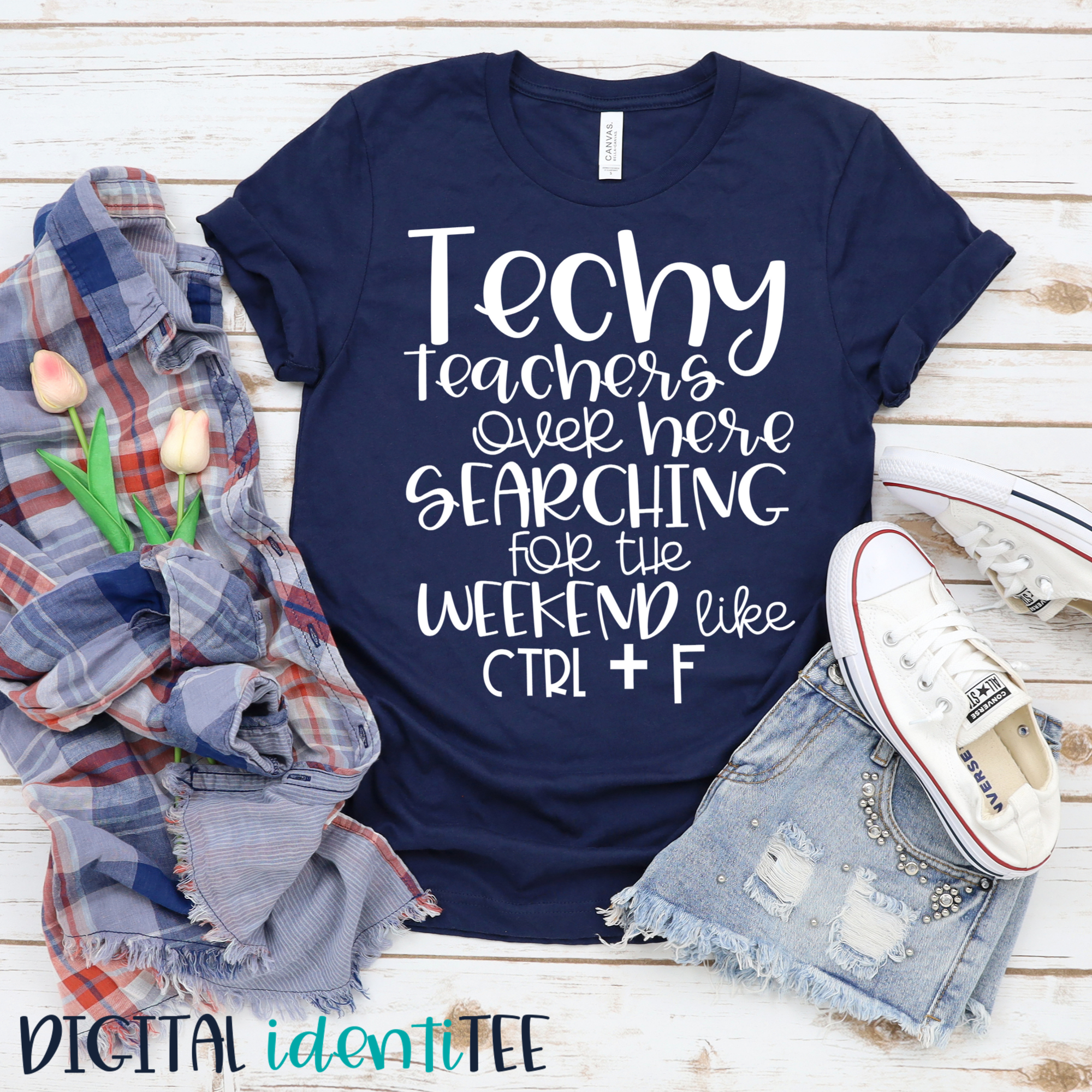 School T-Shirt Teacher Tshirt Good Teacher Tee Bella Canvas