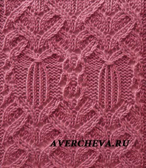 Ручное вязание схемы и узоры 429