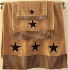 Texas Theme Bathroom Towel Set