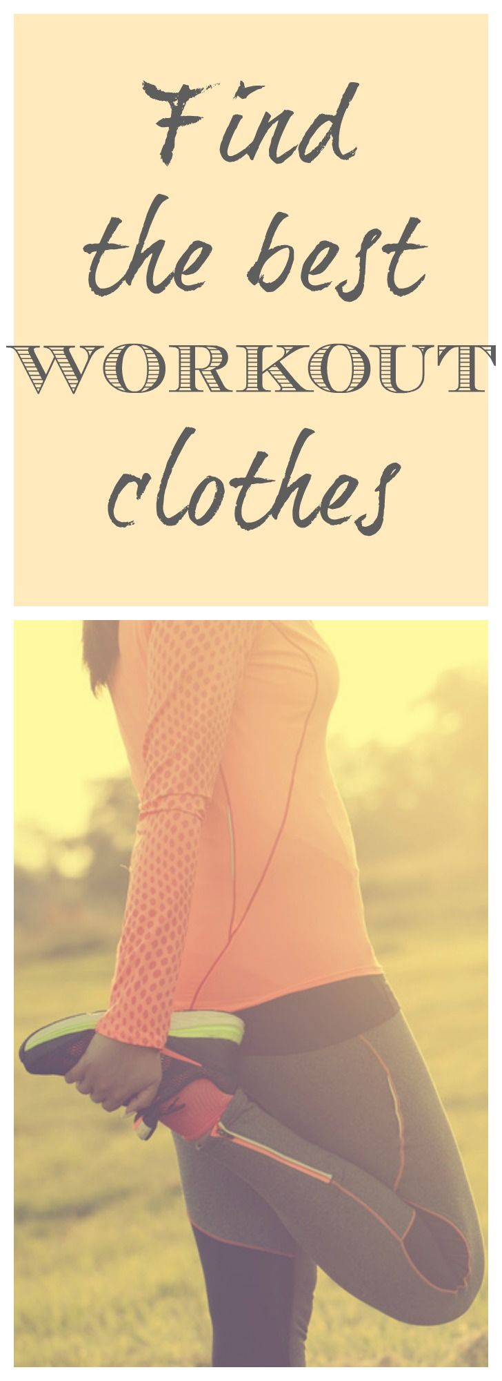 clothes that will keep you comfortable and cute during your next workout ! These are functional clothing that will not only help you stay cool and dry, they can even fuel your motivation to move. Find out more here : http://www.nobletandem.com/10-cutes-confortables-workout-clothes/