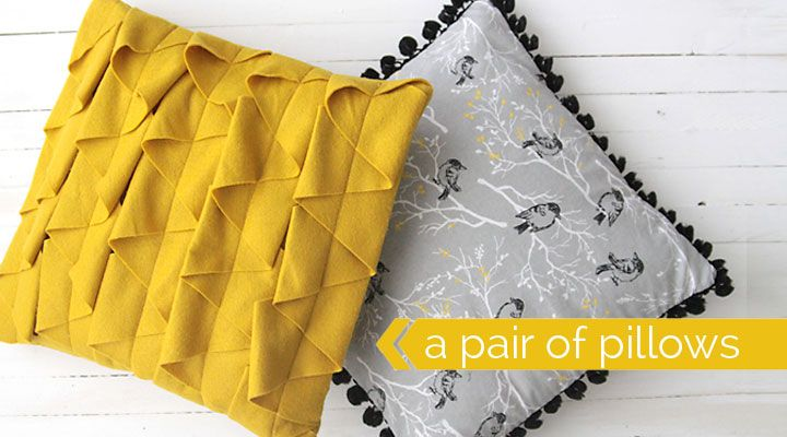 DIY decorative throw pillows sewing tutorial & DIY decorative throw pillows sewing tutorial | Modern throw ... pillowsntoast.com