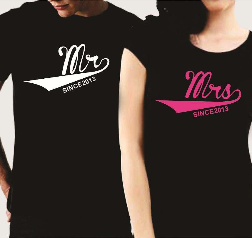6a2bd80922 Best Valentine's Day Gifts, Mr Mrs, Couple Tshirts, Shirt Ideas, Circuit  Machine