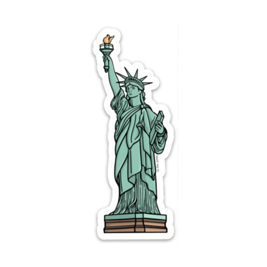 The Statue Of Liberty Sticker Das Schonste Bild Fur Decor Inspiration Das Zu Ihrem Vergnugen Pass In 2020 Aufkleber Selber Drucken Tumblr Sticker Sticker Drucken