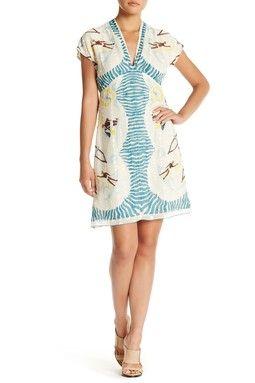 Anna Sui Waikiki V-Neck Dress