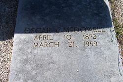 Oscar Lee McDowell