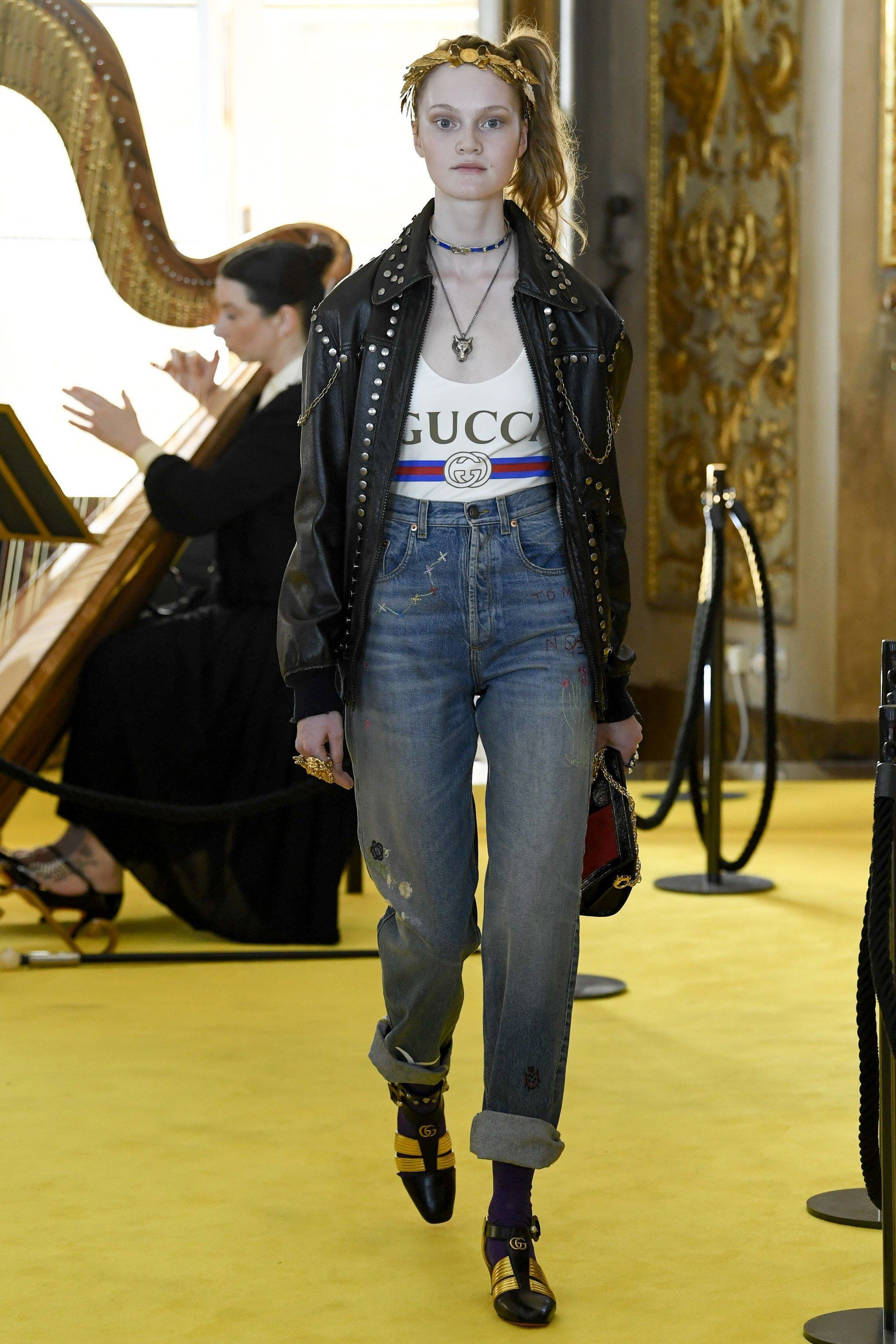 picked up well known best Gucci Resort 2018 Fashion Show in 2020 | Fashion, Gucci fashion ...