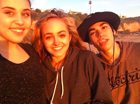 Brenna, Sophie, and Cameron Sophie reynolds, Cameron