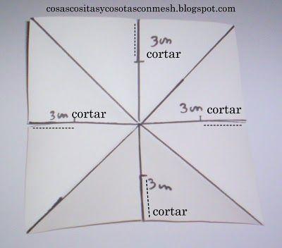 Como hacer una estrella de papel grande paso a paso el for Adornos navidenos origami paso a paso