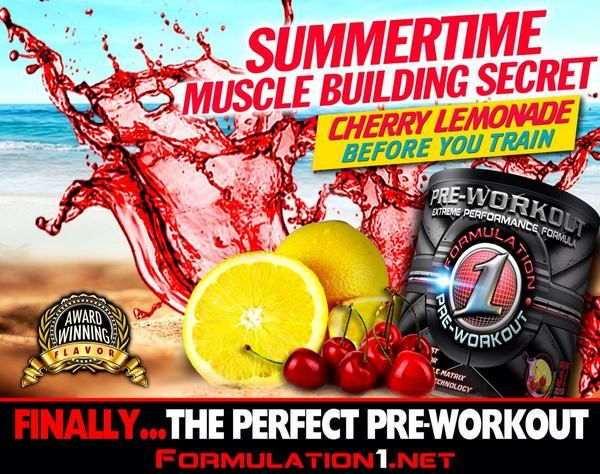 Finally...the perfect Pre Workout!! Flavor: Cherry Lemonade  For- Energy, focus, muscle building, endurance, recovery! *no artificial colors