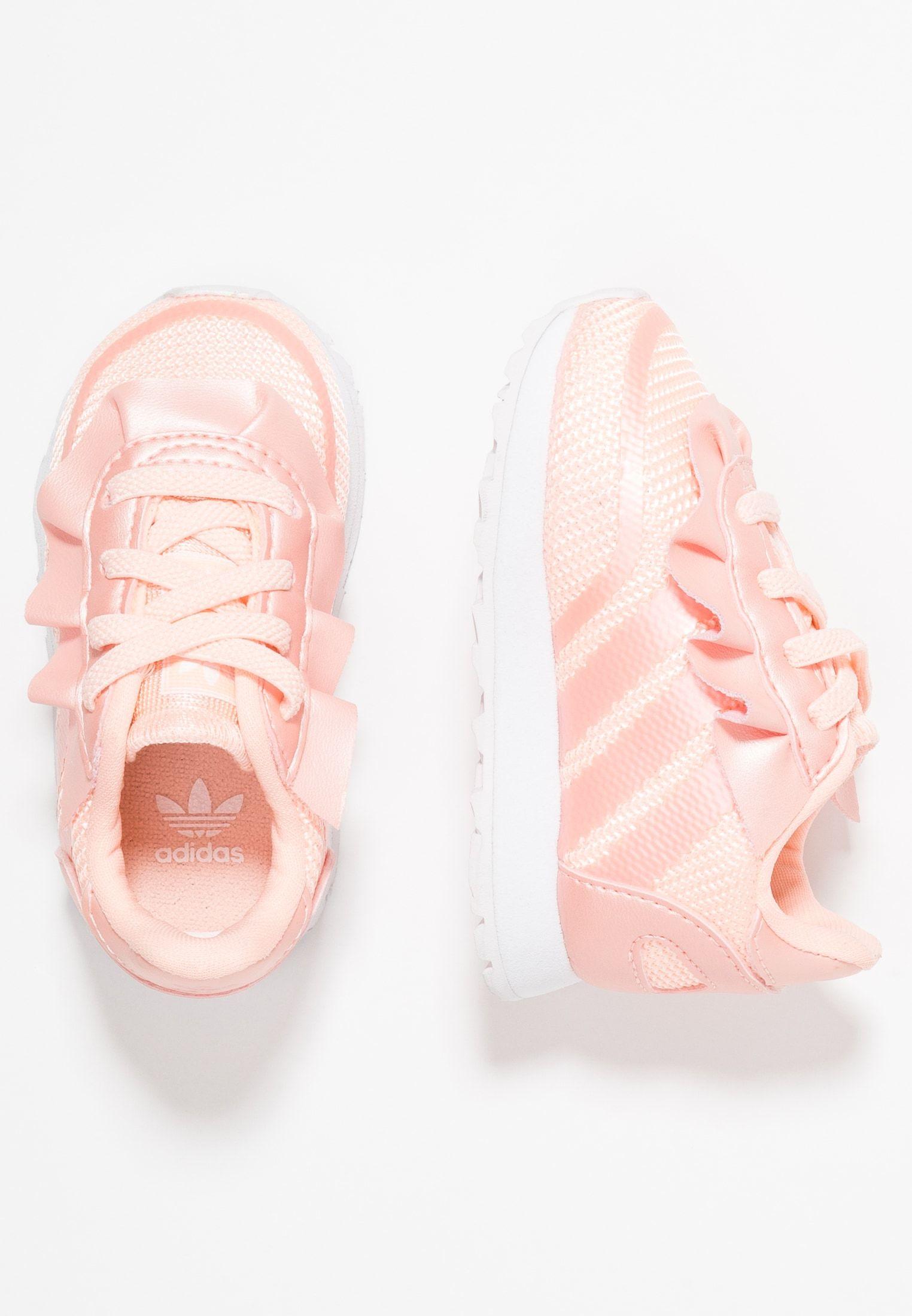 b3a4df343 N-5923 - Slippers - clear orange/footwear white @ Zalando.no ...